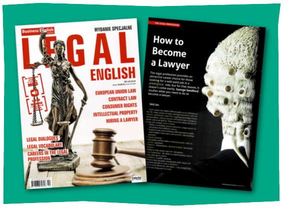 Legal English – Magazyn do nauki języka angielskiego prawniczego