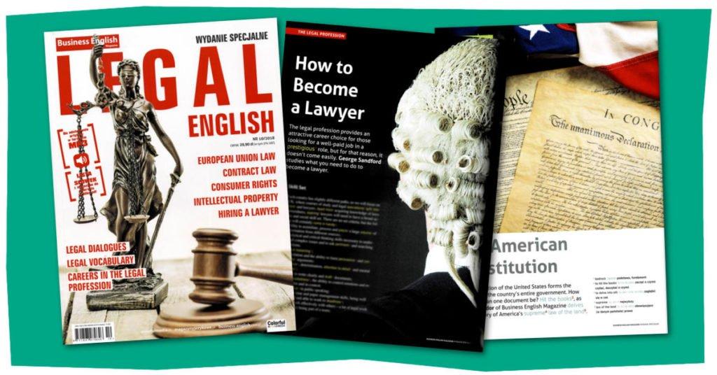 języka angielskiego prawniczego