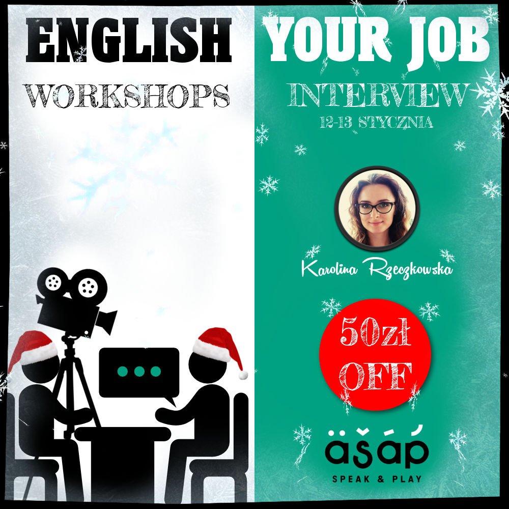 Przygotowanie do rozmowy o pracę po angielsku