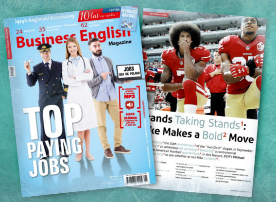 Top Paying Jobs – Business English Magazine (styczeń/luty)