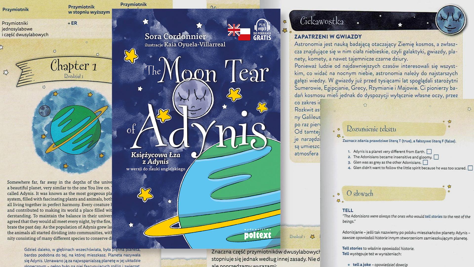 The Moon Tear of Adynis – Wyjątkowa baśń w wersji do nauki angielskiego dla dzieci (PL/EN)