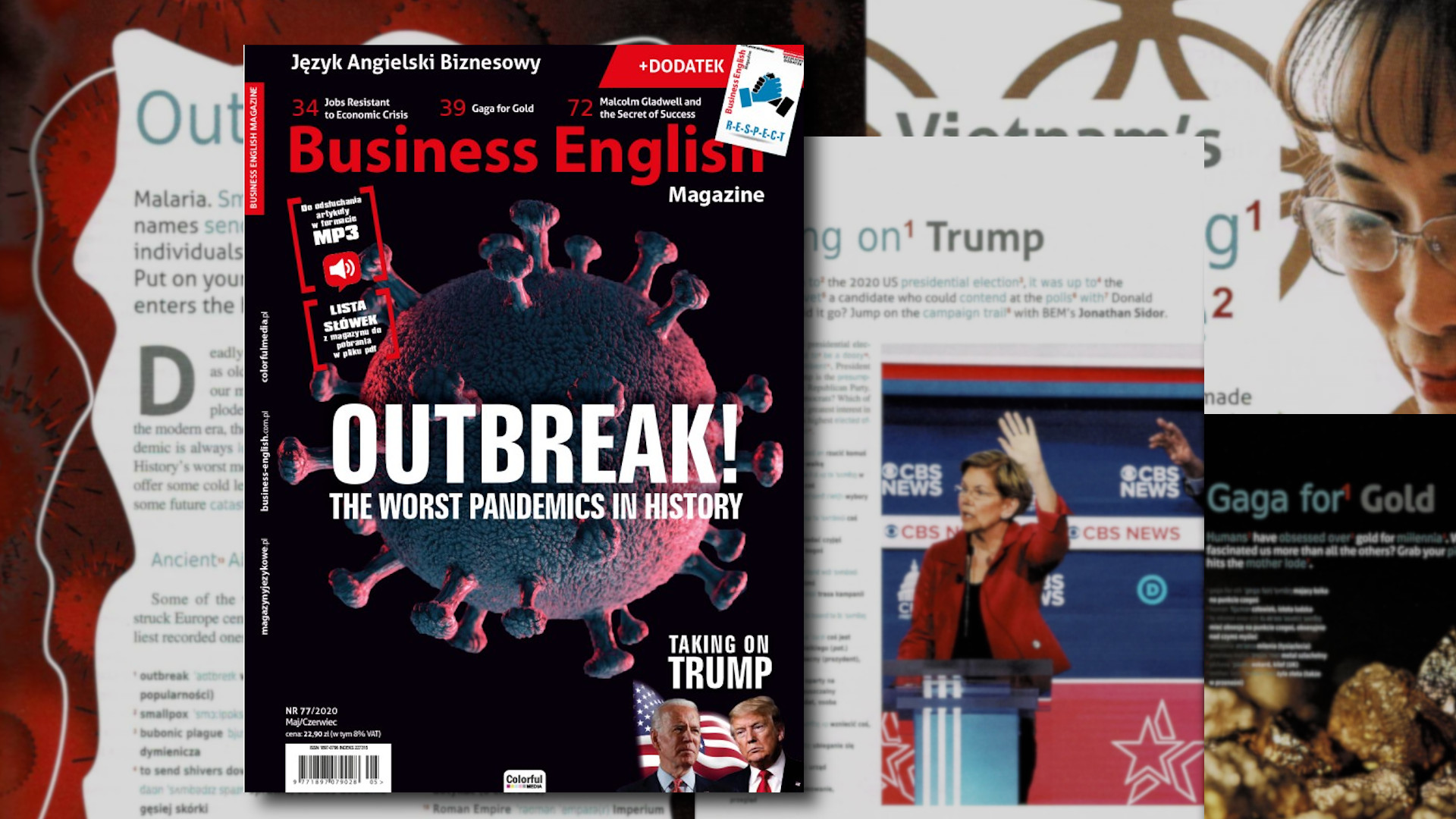 Business English Magazine – Outbreak! The worst pandemic in history