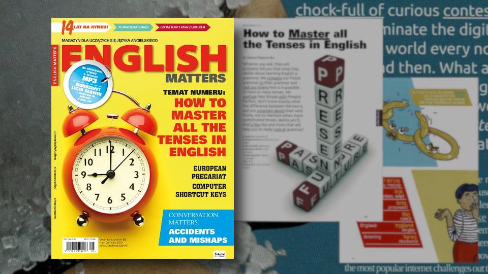 English Matters – Magazyn dla uczących się angielskiego! nr 82