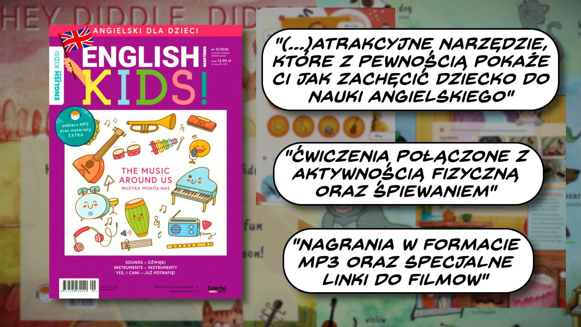 Jak zachęcić dziecko do nauki angielskiego? English Matters KIDS 9/2020