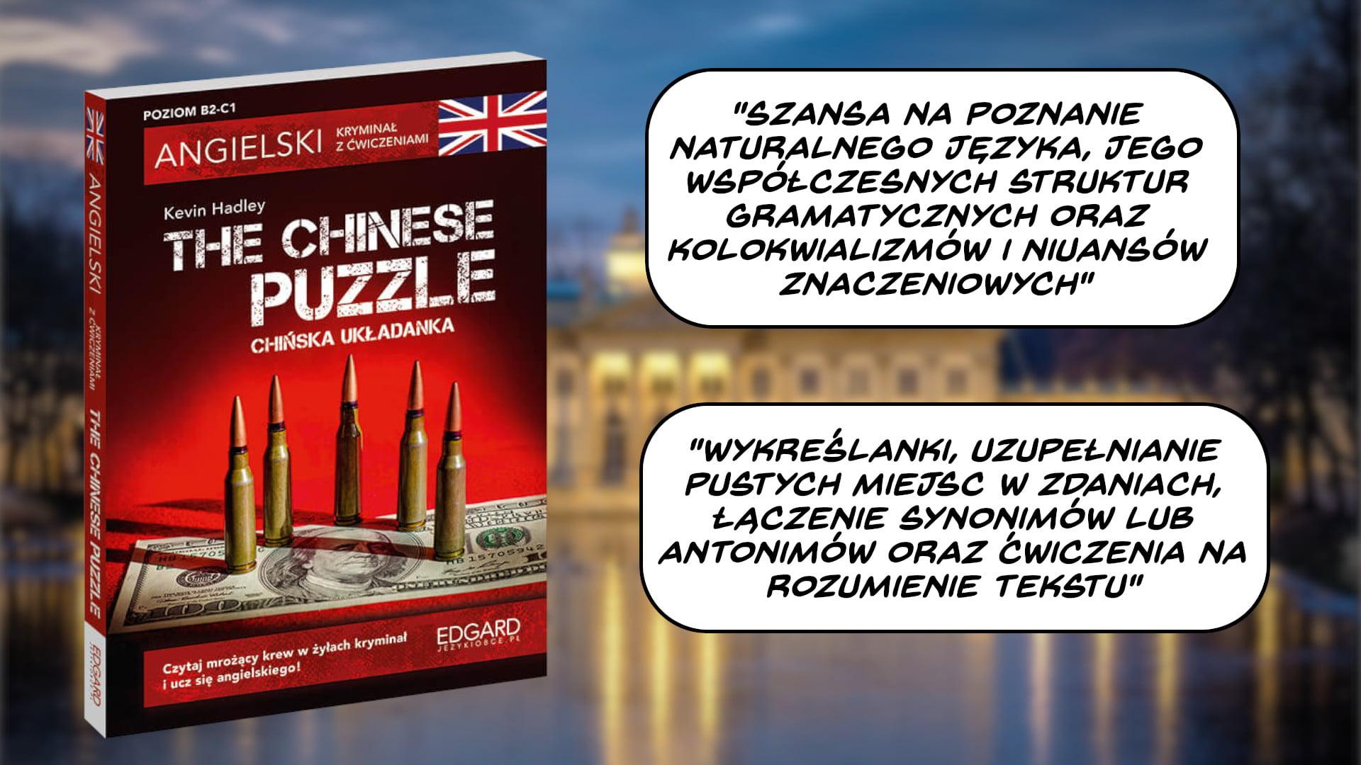 Dobre kryminały do nauki angielskiego. The Chinese Puzzle + Ćwiczenia