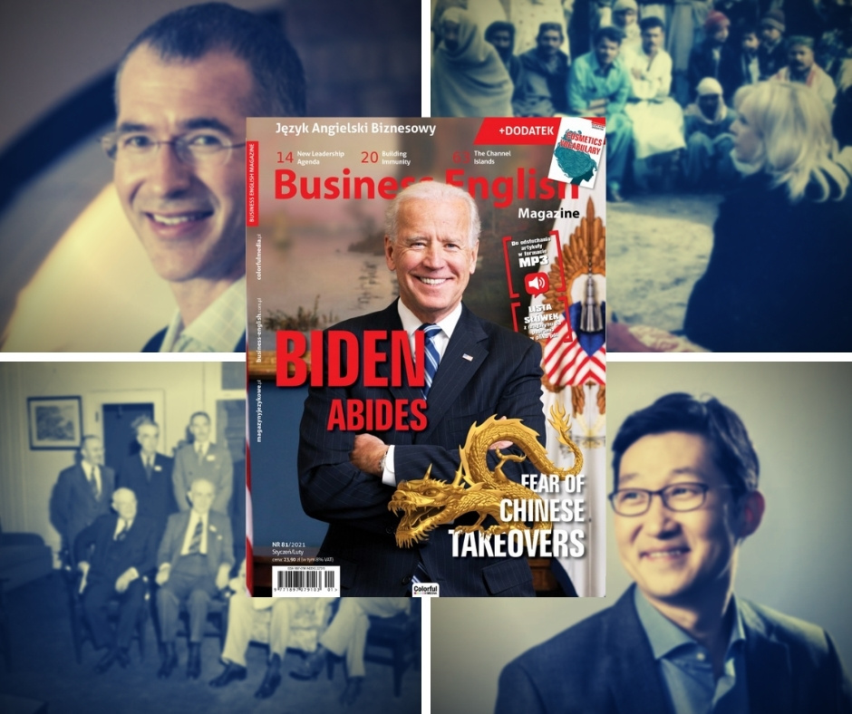 Business English Magazine 81 – Joe Biden Abides, Fear of Chinese Takeovers
