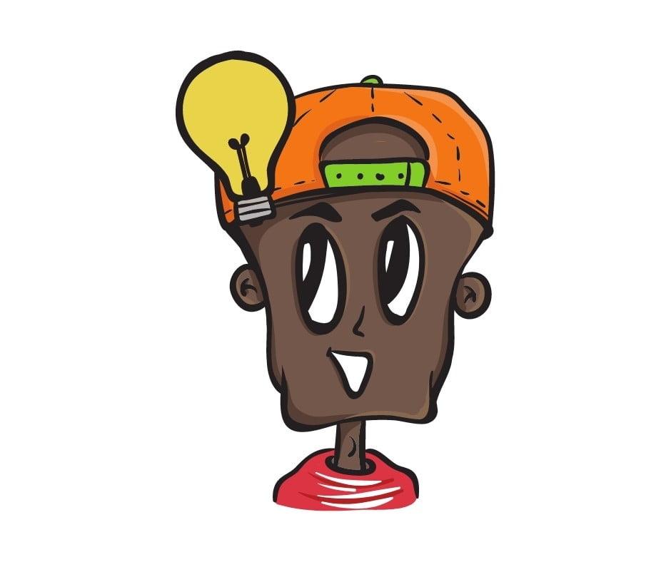 put on one's thinking cap