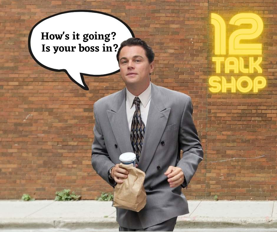 Pytania po angielsku: Is your boss in? – Czy twój szef jest w biurze? #12